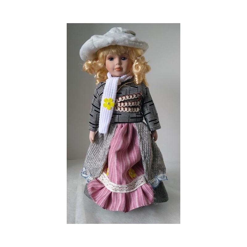 Porcelánová bábika PBMAD 40