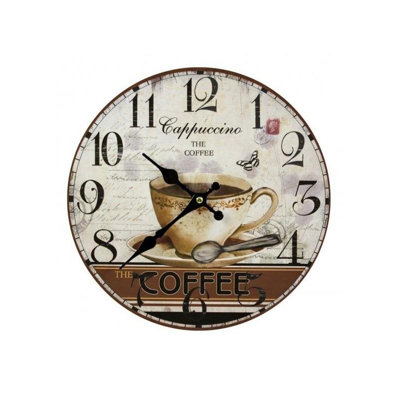 Nástenné hodiny Cappuccino the coffee 30cm