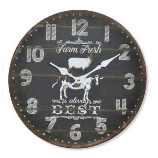 Nástenné hodiny Farm fresh 34cm