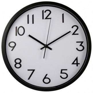 Nástenné hodiny KM plastové 34cm