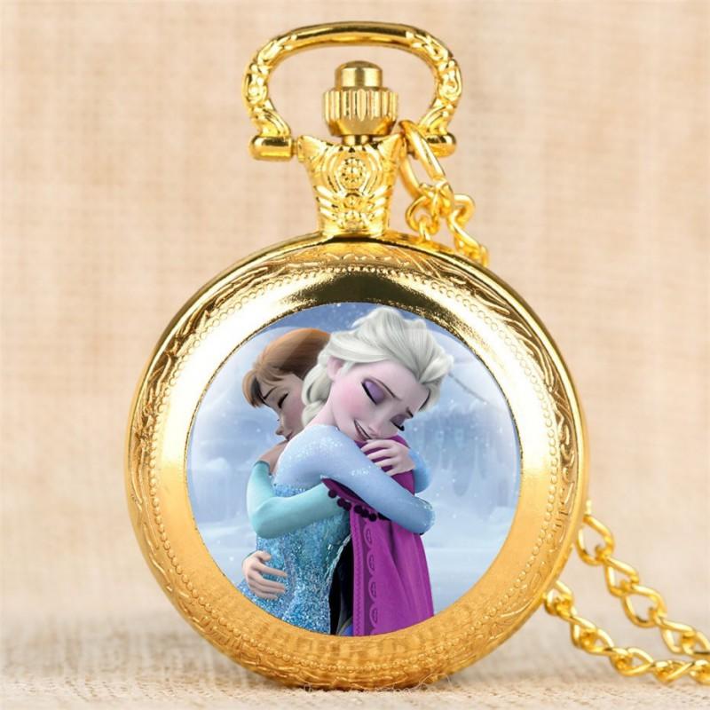 Vreckové hodinky Ľadové kráľovstvo