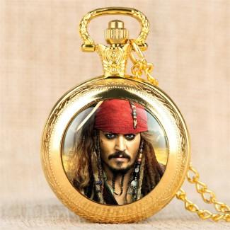 Vreckové hodinky Jack Sparrow