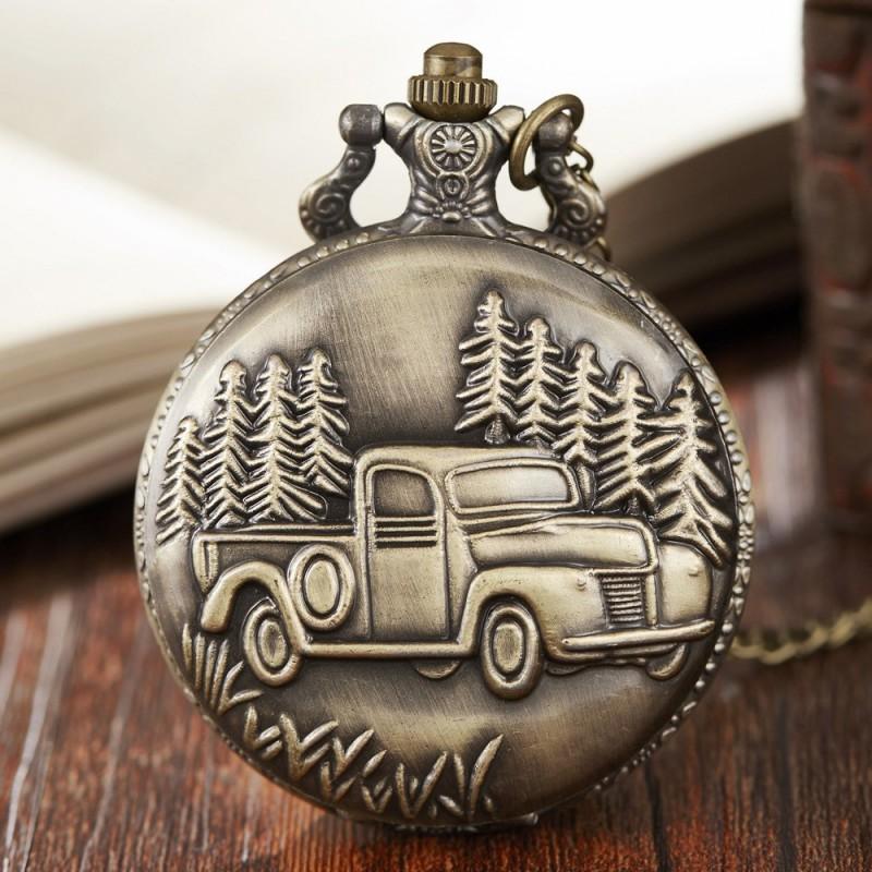 Vreckové hodinky Starožitné auto