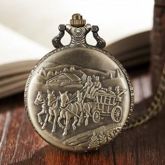 Vreckové hodinky Staroveká preprava