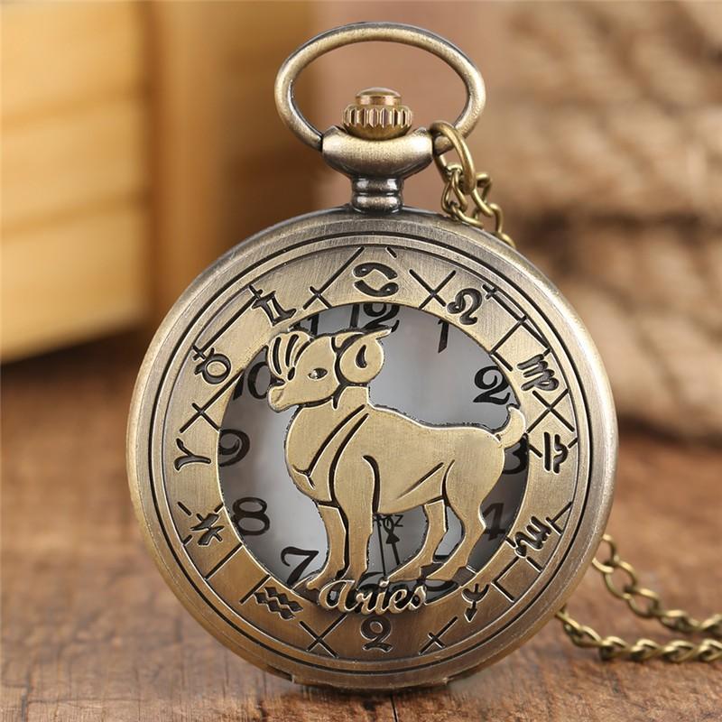 Vreckové hodinky znamenie Baran