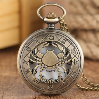 Vreckové hodinky znamenie Rak