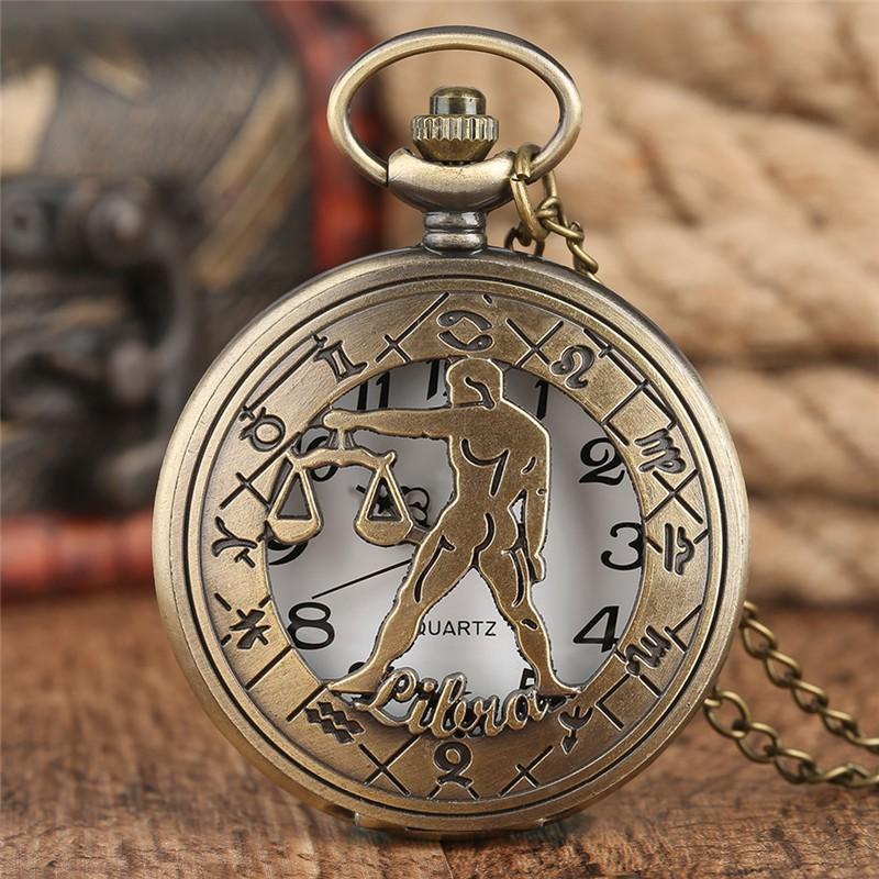 Vreckové hodinky znamenie Váhy