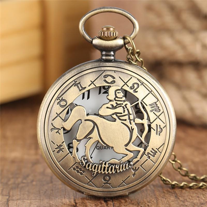 Vreckové hodinky znamenie Strelec