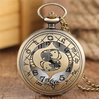 Vreckové hodinky znamenie Ryby