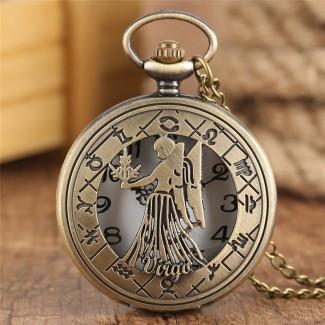 Vreckové hodinky znamenie Panna