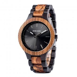 Drevené hodinky pánske