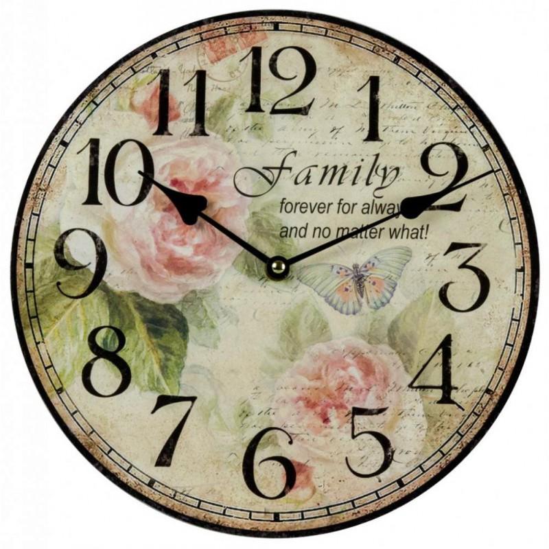 Nástenné hodiny Family 30cm