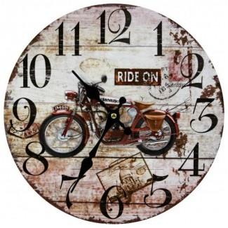Nástenné hodiny Ride On 30cm