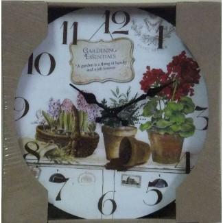 Nástenné hodiny Gardening Essentials 28,5cm