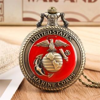 Vreckové hodinky Marine Corps