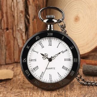 Vreckové hodinky neotvárajúce čierne