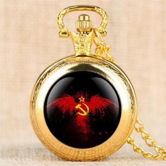 Vreckové hodinky USSR B