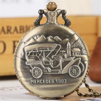 Vreckové hodinky Mercedes 1903