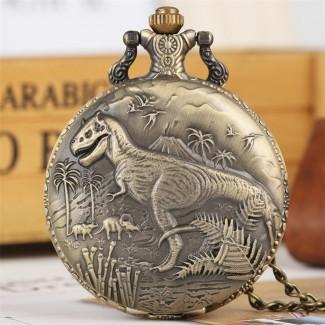 Vreckové hodinky Dinosaur