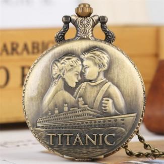 Vreckové hodinky Titanic