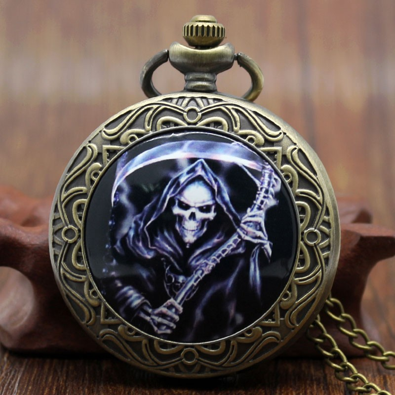 Vreckové hodinky Zubatá s kosou