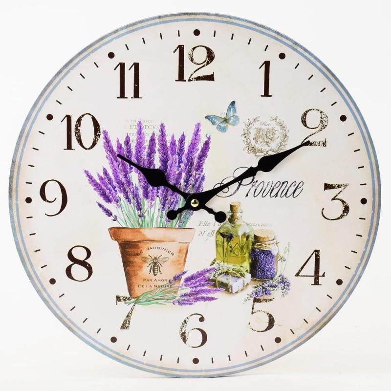 Nástenné hodiny Provence 34cm