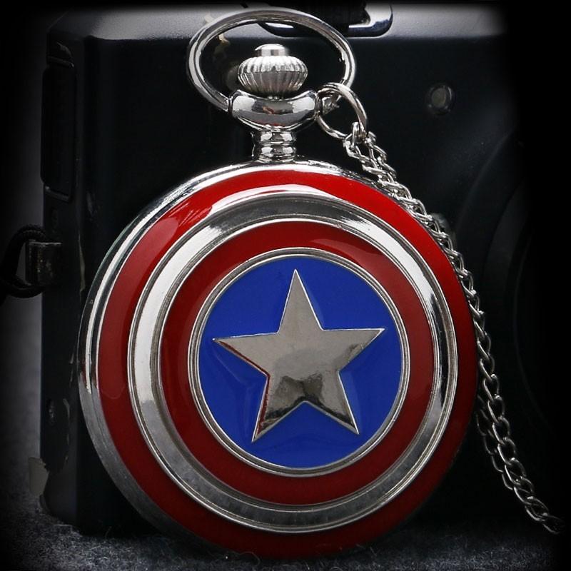 Vreckové hodinky Captain America