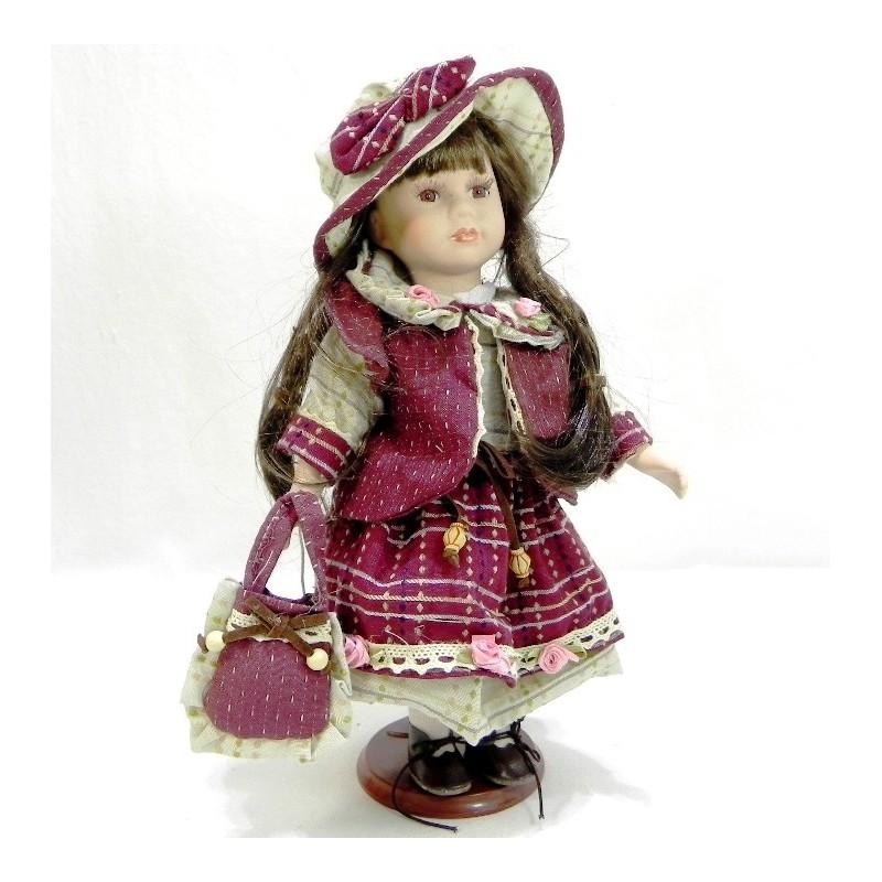 Porcelánová bábika Agáta
