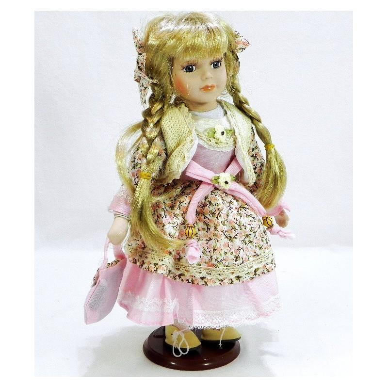 Porcelánová bábika Cecília