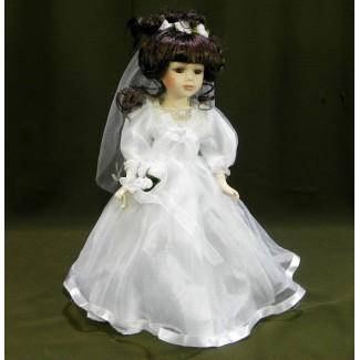 Porcelánová bábika nevesta