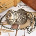 Vreckové hodinky Hasič, otvorené