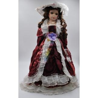 Porcelánová bábika Anastázia 55