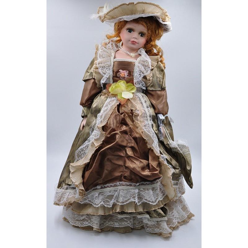 Porcelánová bábika Bibiána 55