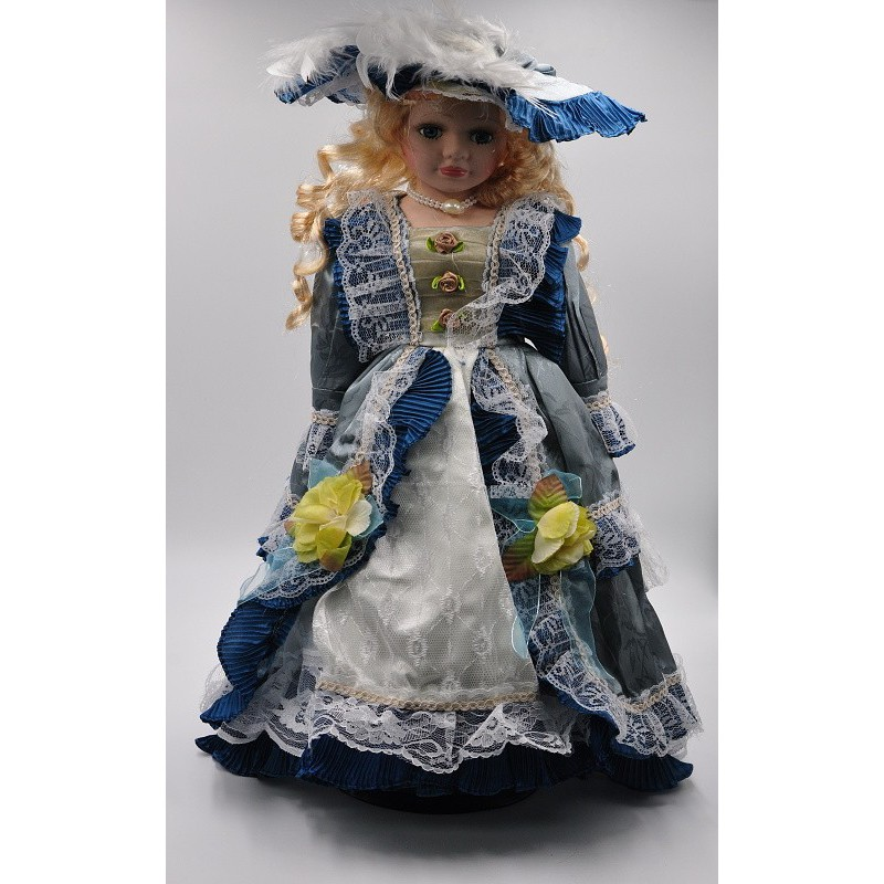 Porcelánová bábika Estera 55