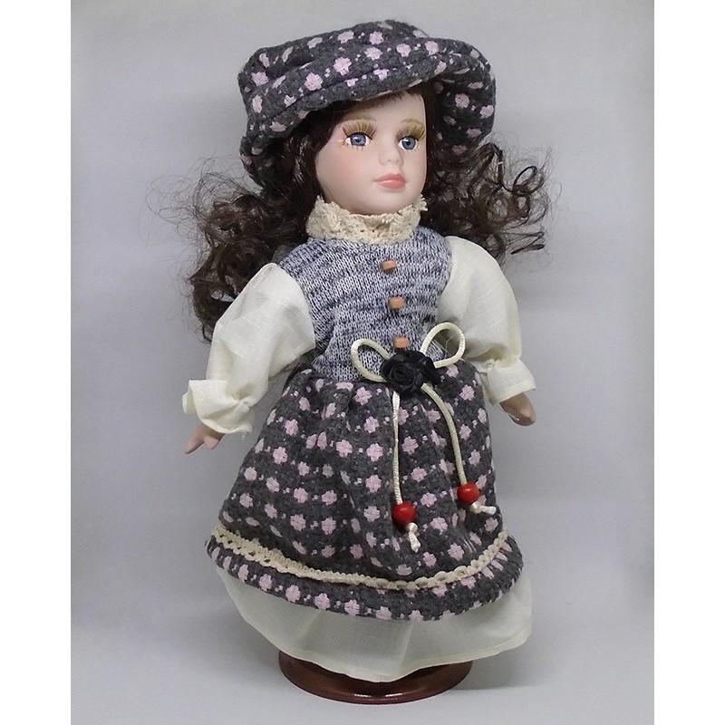 Porcelánová bábika Eleonóra 32