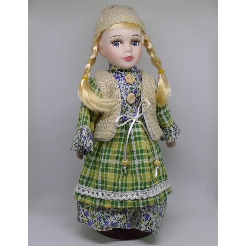 Porcelánová bábika Ruženka 32