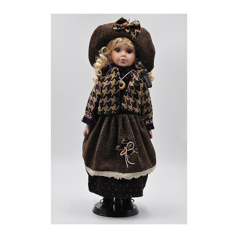 Porcelánová bábika Barbora 40