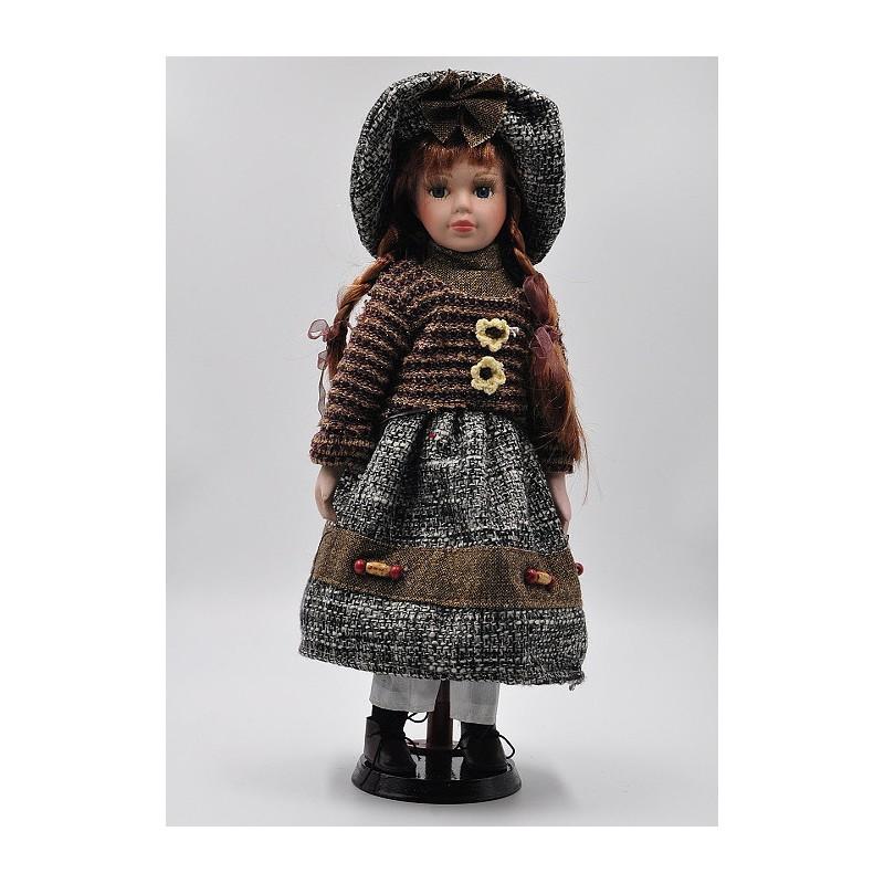 Porcelánová bábika Izabela 40