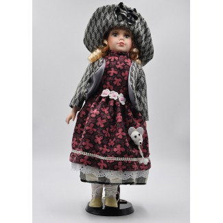 Porcelánová bábika Lujza 40