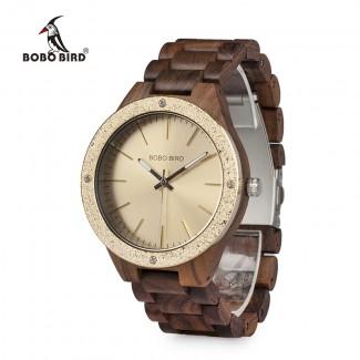 Drevené hodinky Goeben