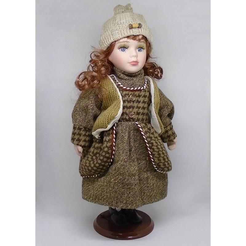 Porcelánová bábika Linda 32
