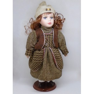 Porcelánová bábika Linda B 32