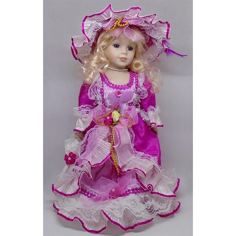 Porcelánová bábika princezná