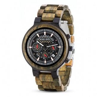 Drevené hodinky Parker