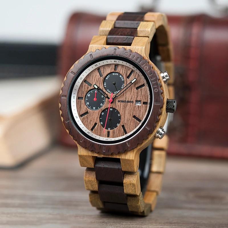 Drevené hodinky Tony