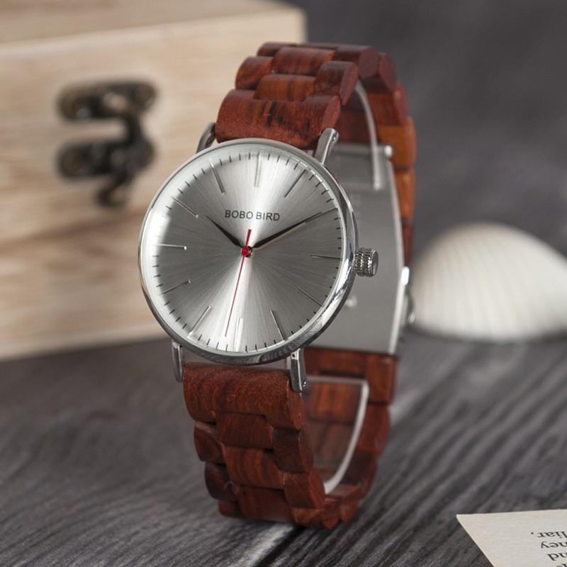 Drevené hodinky Charlie