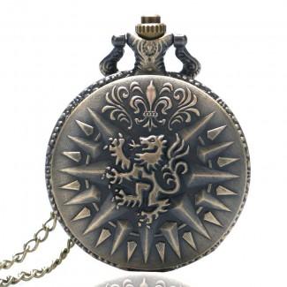 Vreckové hodinky drak
