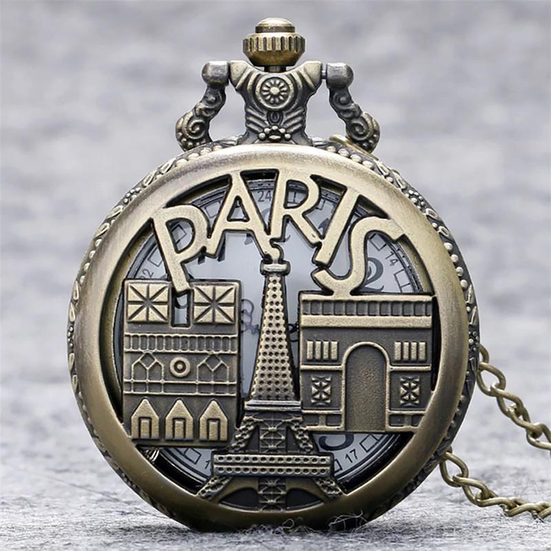 Vreckové hodinky Paris