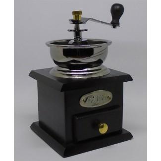 Dekoračný ručný mlynček na kávu Cafe