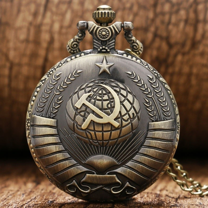 Vreckové hodinky sovietske